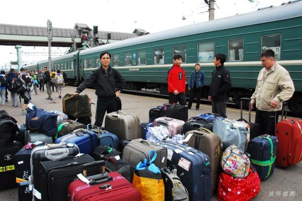 西伯利亞鐵路中途站